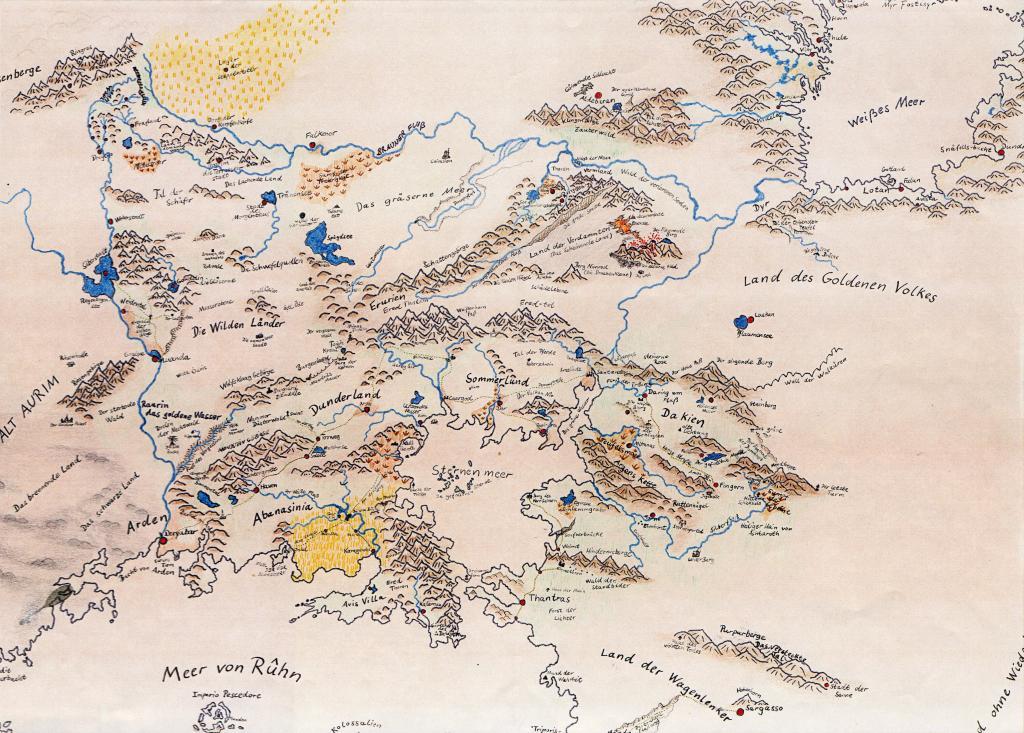 Karte des Asgard Länderspiels