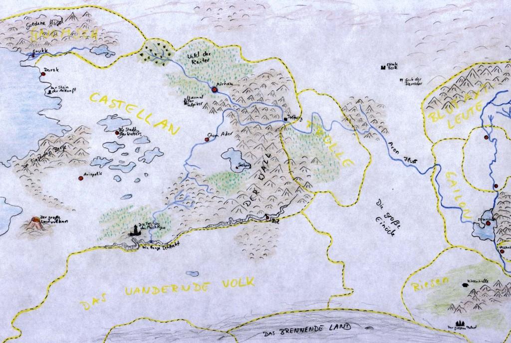 Karte - Westliches Imperium