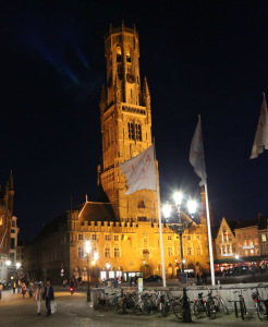 Belfort during night