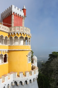 Crazy architecture and the (almost) tropical gardens of Sintra