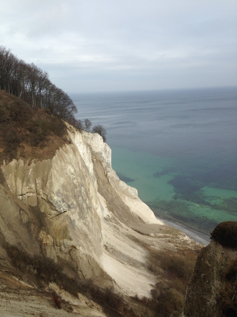 Seeing the white cliffs of Møns Klint in Denmark. They almost look like an aquarell painting.