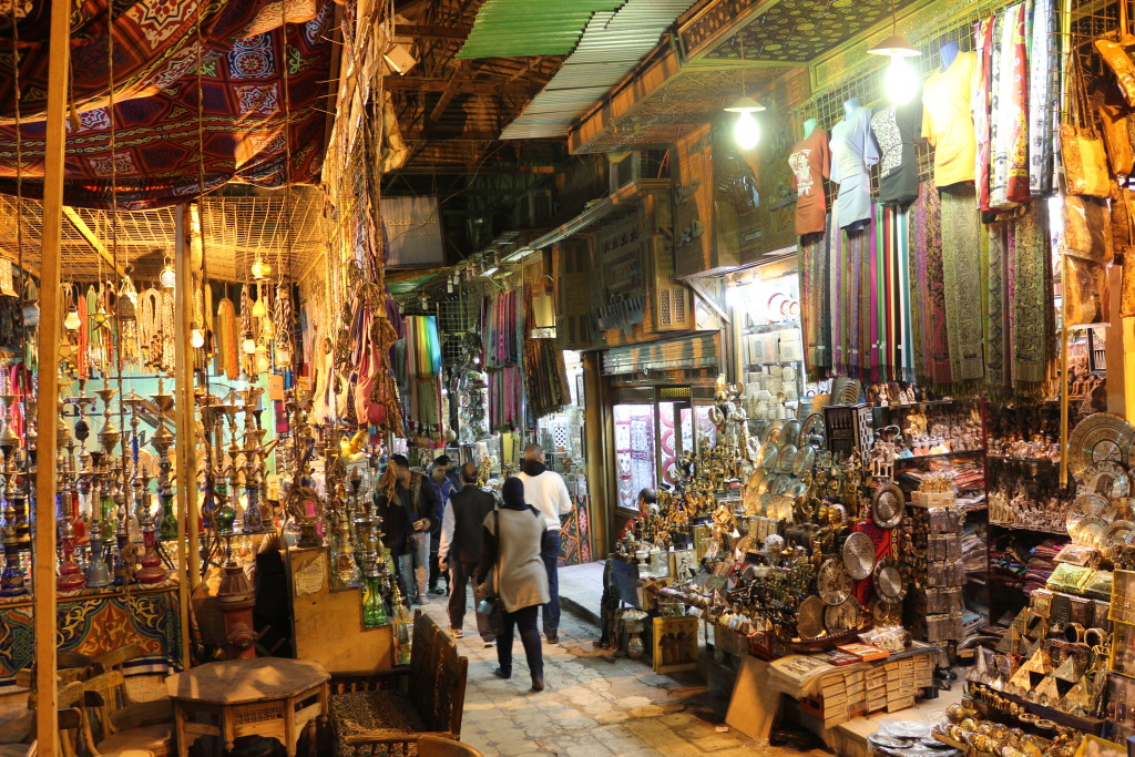 Seeing crazy traffic and loud street life in bustling Cairo