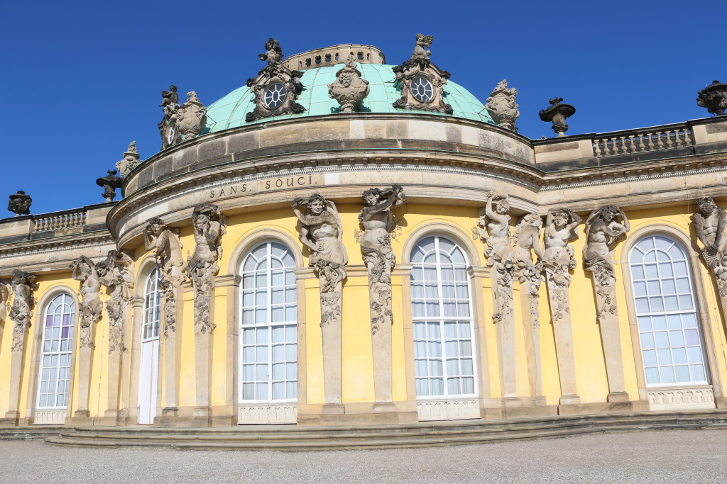 Revisiting the palace gardens of Sanssouci in Potsdam after so many years. This is one of my favorite places in the world. I also need to thank the heavens for the brilliant weather.