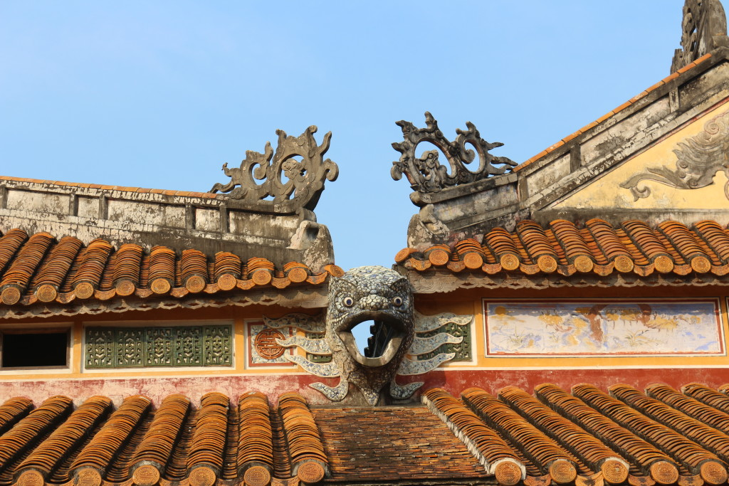 The Forbidden City inside the Citadel of Hue is impressive. I would have loved to spend much more time there - although I am not so sure if it is worth it since almost the entire site was destroyed during the Vietnam War. Reconstruction is still ongoing.