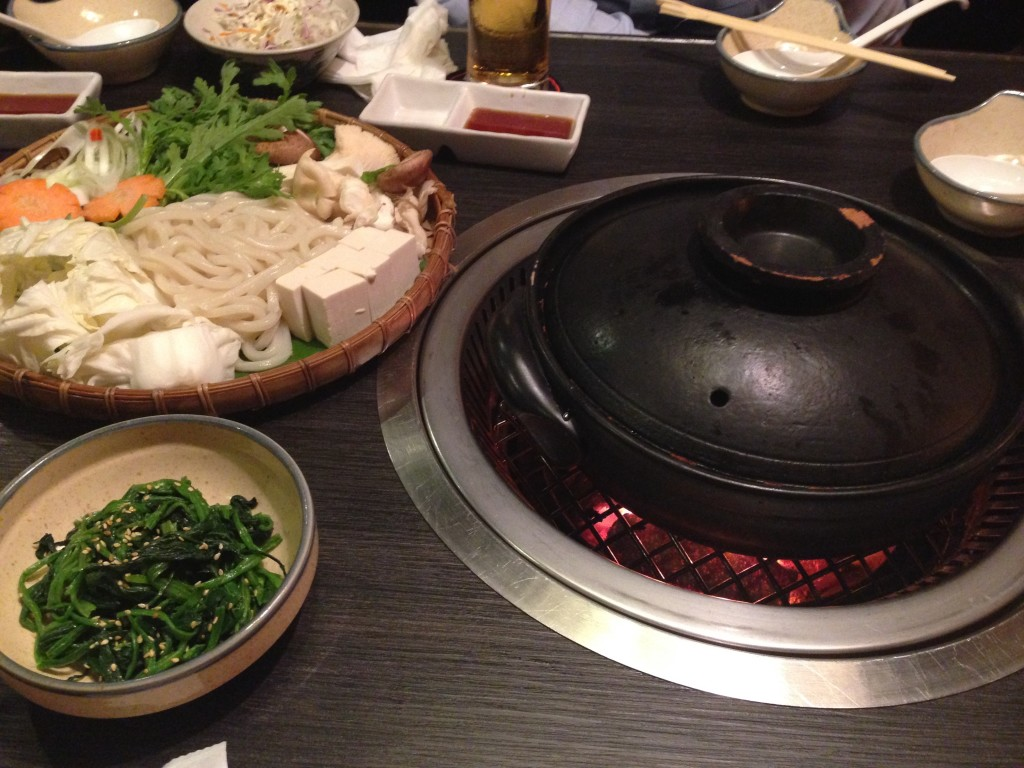 Understanding a bit better how Hot Pot works. I still think that this kind of restaurant would have a bright future in Europe (if it is not killed by fire protection concerns).