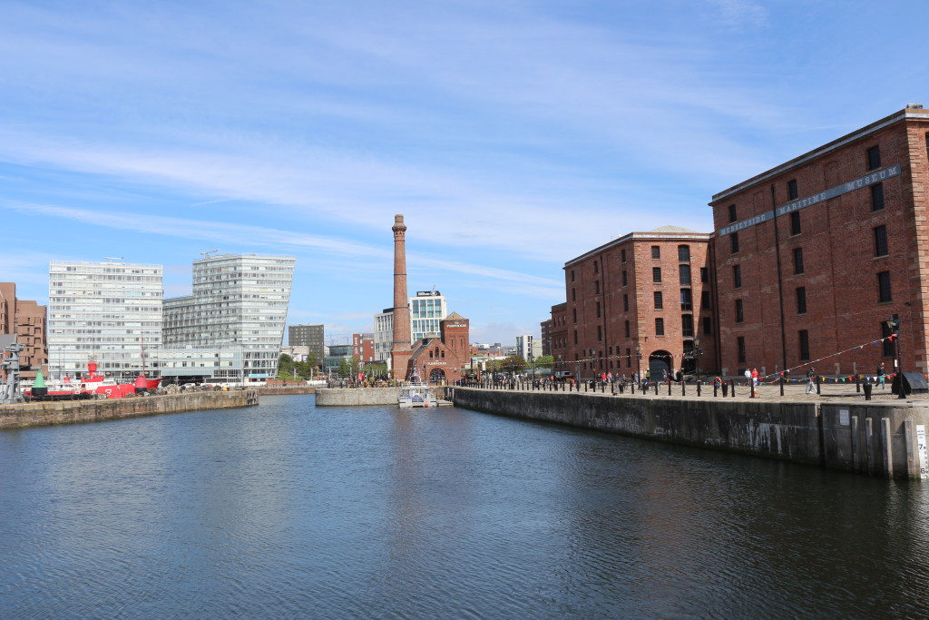 Liverpool is another harbor city that is currently reinventing itself. Really liked the new Liverpool. Was also very lucky with the weather.