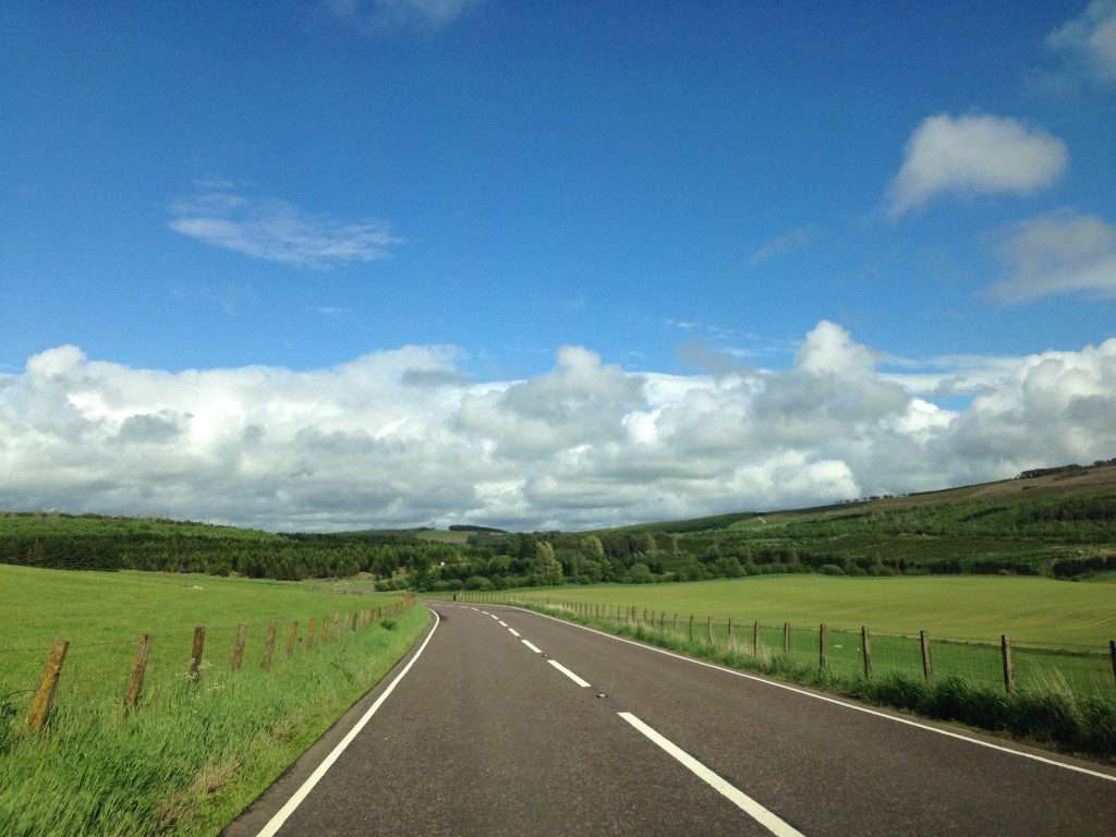 Driving through the Scottish Lowlands and Highlands was simply spectacular.