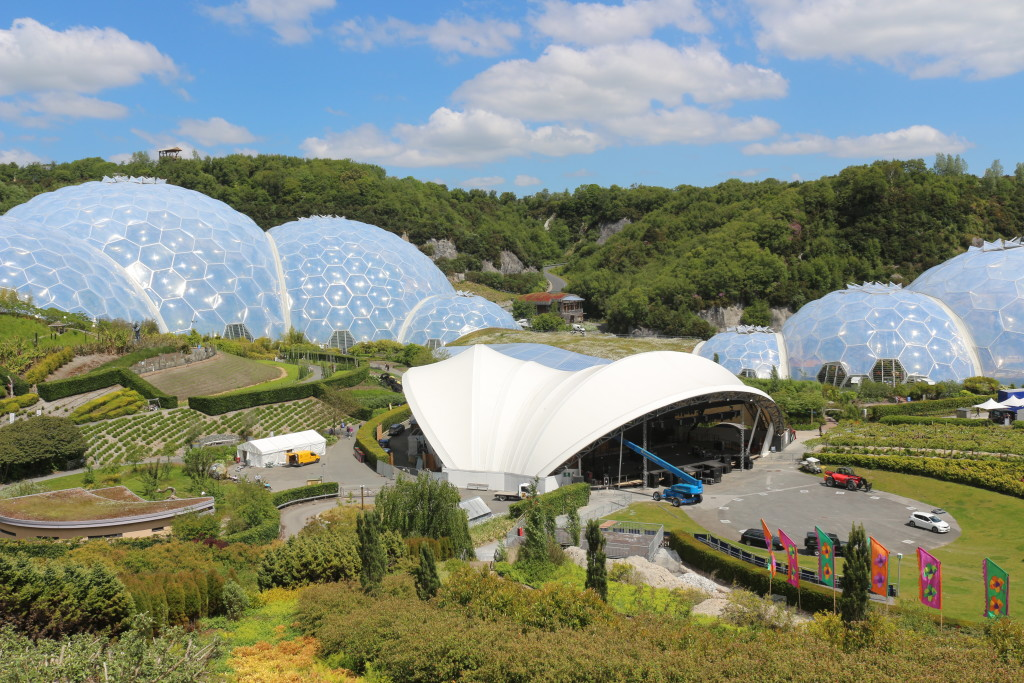 The Eden Project simply looks like a science fiction movie set.